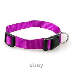10pcs Nylon Puppy Small Cat Dog Collars Lot for Chihuahua Poodle Pets Wholesale