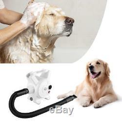 2400W Pedy Dog Hair Dryer 3.2 HP Stepless Adjustable Speed Pet Grooming Dryer NW