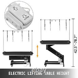 330LBS Electric Lifting Pet Dog Grooming Table Shower Stable linear actuator set