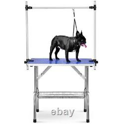 36 Folding Pet Grooming Table Dog Cat Grooming Table Heavy Duty Stainless Steel