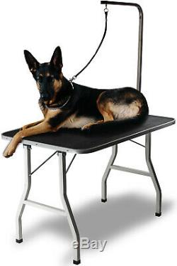 36 Large Pet Grooming Foldable Table Dog Cat Adjustable Arm Groom Connect