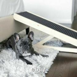 40 PawRamp Pet Dog Ramp 4 Adjustable Heights Bed/Couch Folds Flat