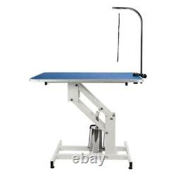 42X 23 Hydraulic Pet Dog Grooming Table Lifting 330Lbs Large Bath Stable Safe