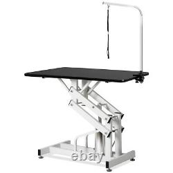 42.5x 23.5Hydraulic Dog Pet Grooming Table Z-Lift Adjustable Heavy WithArm&Noose