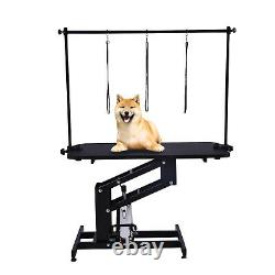 43 Inch Hydraulic Pet Dog Grooming Table Upgraded Professional Drying Table