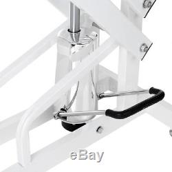 43 Pet Hydraulic Grooming Table Dog Cat Adjustable Heavy Duty with Arm Noose F3N6