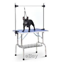 46 Pet Dog and Cat with Adjustable Arm and Clamps Large Animal grooming table