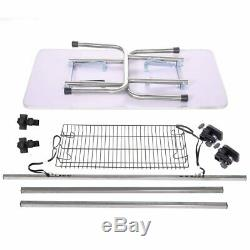 46'' Professional Adjustable Dog Cat Pet Grooming Table WithArm & Noose& Mesh Tray