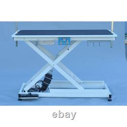 49x 26 Electric Pet Dog Lift Grooming Table Height Adjustable Heavy Duty US