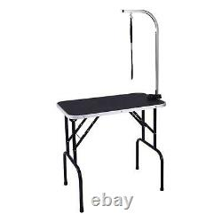 Adjustable 32/36 Foldable Pet Dog Cat Grooming Table with Adjustable Arm Noose
