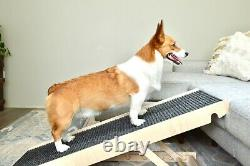 Adjustable Pet Ramp for All Dogs and Cats for Couch or Bed Made in USA