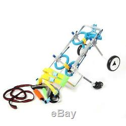 Adjustable Pet Wheelchair Handicapped Cat Dog Doggie Puppy Traction Rope