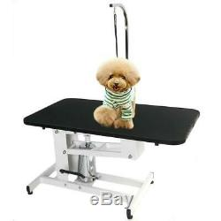 Adjustable Z-Lift Hydraulic Dog Pet Grooming Table Powder Coating Arm & Noose