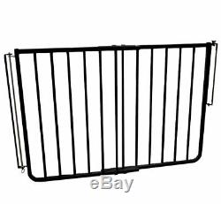 Baby Gates For Stairs Dog Pet Top Of Stairway Safety Adjustable Indoor Home Kit
