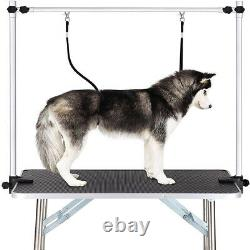 Black 36 Portable Pet Dog Grooming Table Foldable with Large Adjustable Arm/Noose