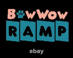 Bowwow Pet Ramp Doggy Ramp Cat- 4 Adjustable Heights Bed/Couch Folding