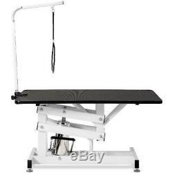 Clearance! Grooming Table, Professional Pet Dog Grooming Table with Adjustable A