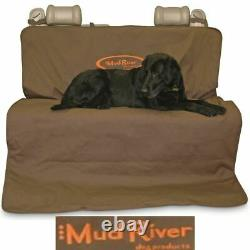 DOUBLE SEAT COVER DOG PET Travel Padded Adjustable Durable Two Barrel 56 X 68
