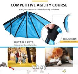 Destar Dog Agility Equipment Pet Obstacle Training Course Kit With Tunnel Adjust