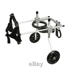 Dog Wheelchair Fully adjustable Small Medium Large For Pet Handicapped Paralysis