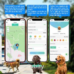 Dogs Tracking Pet GPS Tracker No Monthly Plan Fee Health Activity Monitor Collar