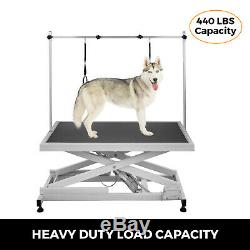 Electric Grooming Tables Pet Electric Dog Grooming Table Height Adjustable Black