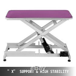 Electric Lift Dog Pet Grooming Table Heavy Duty Adjustable Large Pets Portable