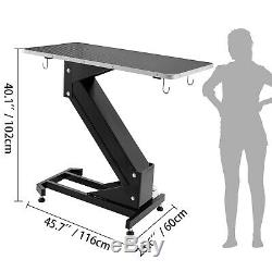 Electric Lifting Pet Dog Grooming Table Height Adjustable Powder-Coated Non-Slip