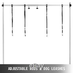 Electric Lifting Pet Dog Grooming Table Height Adjustable Rubber Surface 330lbs