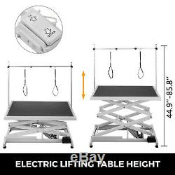 Electric Pet Grooming Table Adjustable Electric Lift Dog Grooming Table Portable
