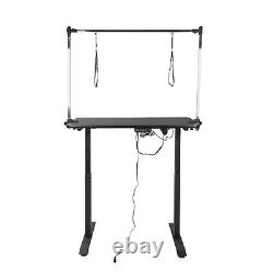 Electric & lift Dog Pet Grooming Bath Table Adjustable Height Noose Arm Non Slip
