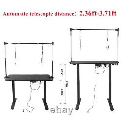Electric lifting Dog Pet Grooming Table Trimming Table Arm Adjust With Noose