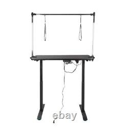 Electric lifting Dog pet grooming table Trimming Table Arm Adjust WithNoose Tray
