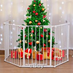 Fireplace Fence Baby Pet Dog Cat Safety Fence BBQ Hearth Gate Metal Fire Gate