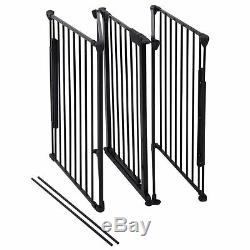Fireplace Fence Baby Safety Fence BBQ Metal Fire Gate Hearth Gate Pet Cat Dog