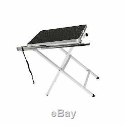 Flying Pig Grooming Mini Size Pet Dog Portable Grooming Table Black