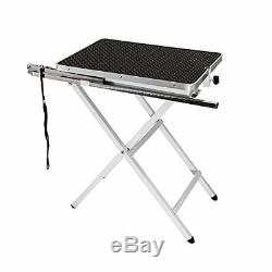 Flying Pig Grooming Pet Dog Portable Table Black Mini Size/24L x 18W