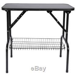 Foldable 32 Pet Care Dog Cat Grooming Table Adjustable Arm Noose Gr