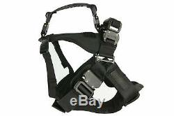 Fusion Pets Adjustable Military Tactical Police K9 Dual Handle Dog Harness