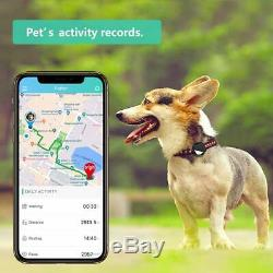 GPS Pet Tracker, Real-Time Tracking Bluetooth Device for Dogs Cats Pets(Iphone)