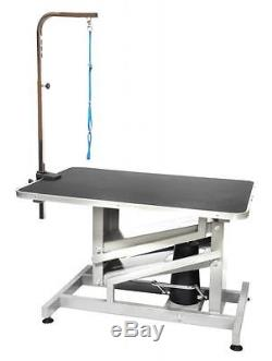GoPetClub 36 Pet Dog Z-Lift Hydraulic Grooming Professional Table withArm HGT-509