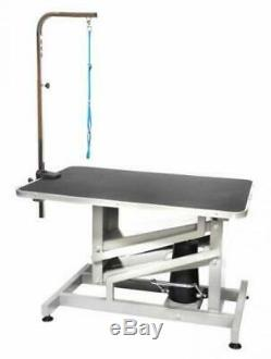 Go Pet Club 36 in. Dog Z-Lift Hydraulic Grooming Professional Table Black