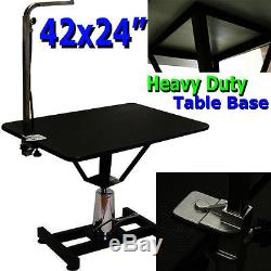 HYDRAULIC 42 X 24 GROOMING TABLE for DOG PETS 42x24 Animal Adjustable Height