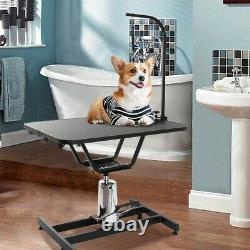 Heavy Duty Hydraulic Pet Dog Grooming Table For Large Dogs With clamb/arm, 400lb