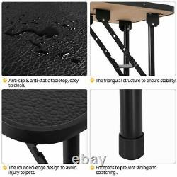 High Quality Adjustable Foldable Pet Dog Cat Grooming Table with Arm and Loop