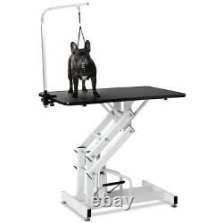 Hydraulic Dog Pet Grooming Table Heavy Duty Big Size Z-Lift Pet Grooming Table