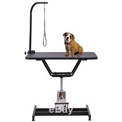 Hydraulic Grooming Table 36 x 24 inch Heavy Duty Adjustable Dogs Cats Pets