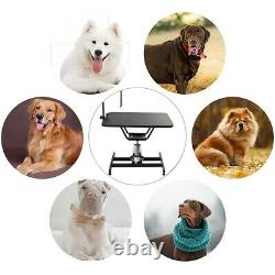 Hydraulic Pet Grooming Table Heavy Duty Professional Dog Drying Table withClamp US