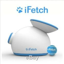 IFetch D1 Pet Ball Launcher NEW In Box Fetch Toy Adjustable Too Interactive Dogs