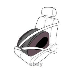 Ibiyaya Convertable Pet Carrier & Car Seat on Wheels for Cats & Dogs Chocolate